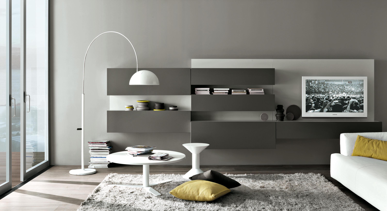 Propun sa admiram design-ul acestui living modern de Misuraemme.