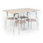 Set masa cu 4 scaune Vega
