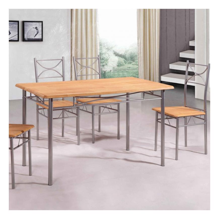 Set masa cu 4 scaune Vera
