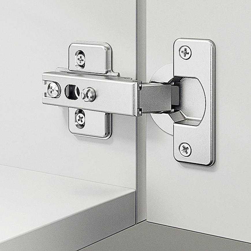 Balama mobila, Häfele Metallamat A/SM 110°, montare aplicată
